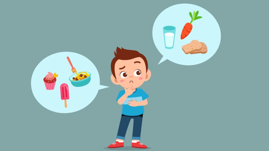 sağlıklı beslenme ve büyümenin ilişkisi